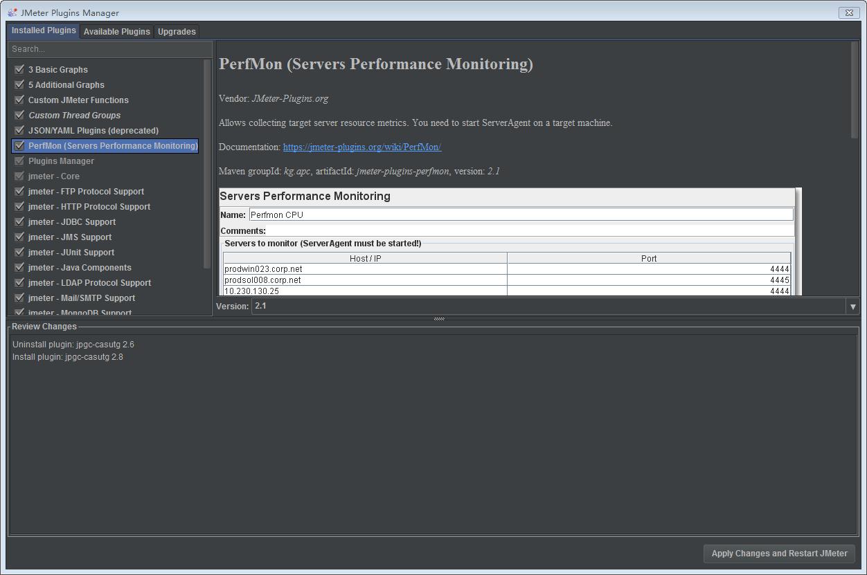 Jmeter之安装插件及服务器端监控  陈宏杰's 私人小巢